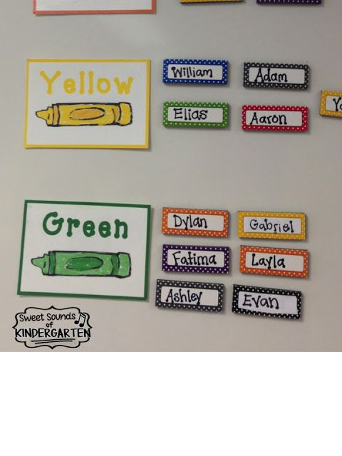 Loaded with centers management ideas great for kindergarten or first grade!  Tons of ideas for your classroom too!