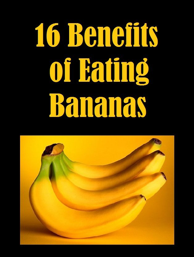 Victory Fitness: 16 Benefits of Eating Bananas (I had no idea that bananas had so many healing qualities!)