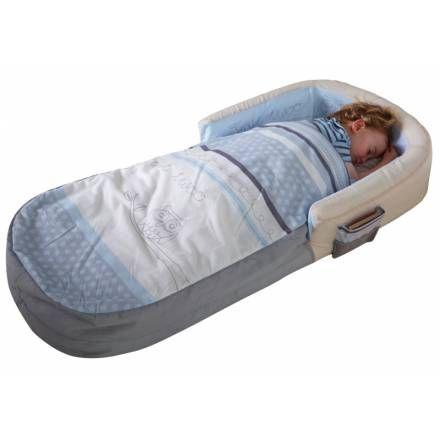 Matelas gonflable bébé bleu - Bébé Gavroche