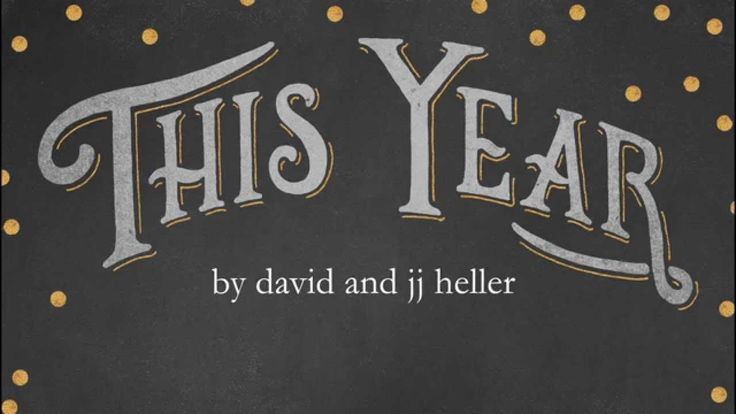 We wrote this on New Year's Day while reflecting on new beginnings.