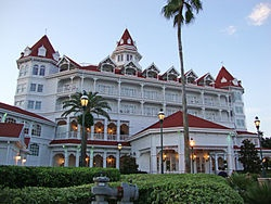 The Grand Floridian: the most beautiful hotel in all of Disney.