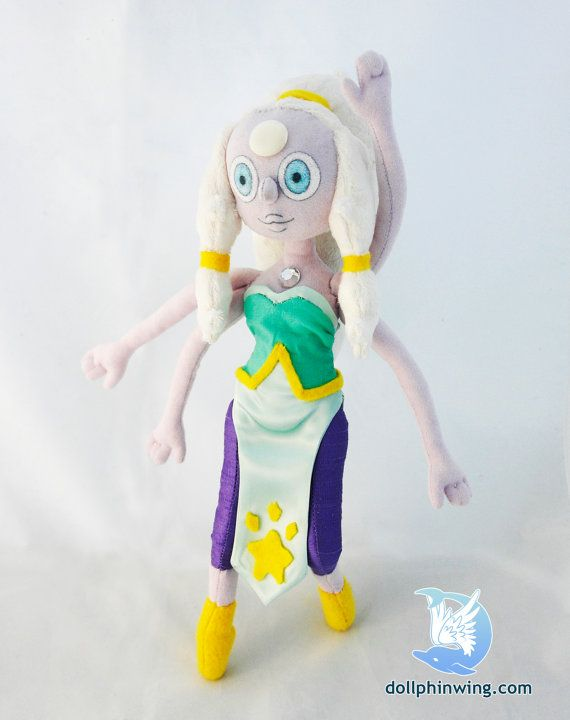 Steven Universe Opal Plush Doll By Dollphinwing On Etsy