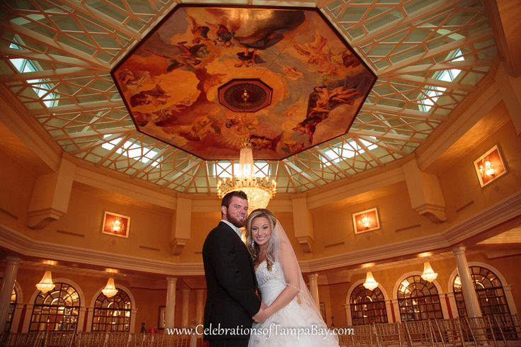 The Four Seasons Ballroom at Safety Harbor Spa, shot by Clearwater Photographer, Neil with Celebrations of Tampa Bay