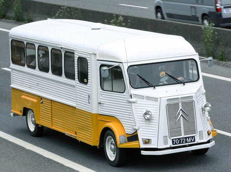 Citroën Type H. Mini Bus  Plus de découvertes sur Le Blog des Tendances.fr…