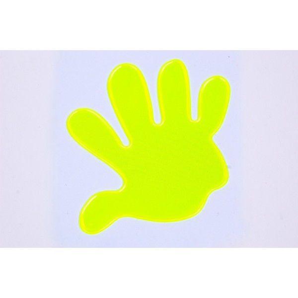 Reflexní samolepka ruka