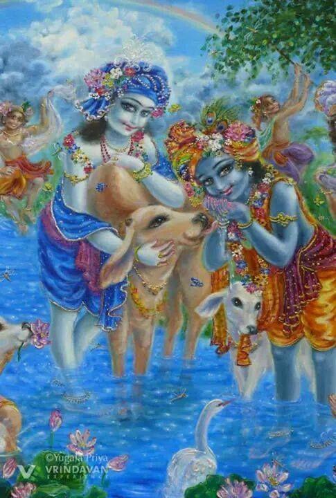 Krishna & Balarama