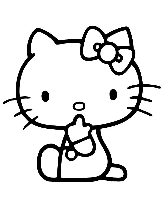 Evil Hello Kitty Coloring Pages : Evil hello kitty coloring pages pixshark