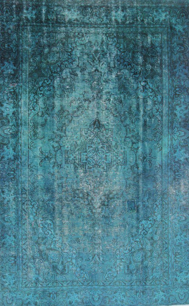 Orientteppich  Vintage modern Handgeknüpft  perser 350 x 223 cm orient carpet