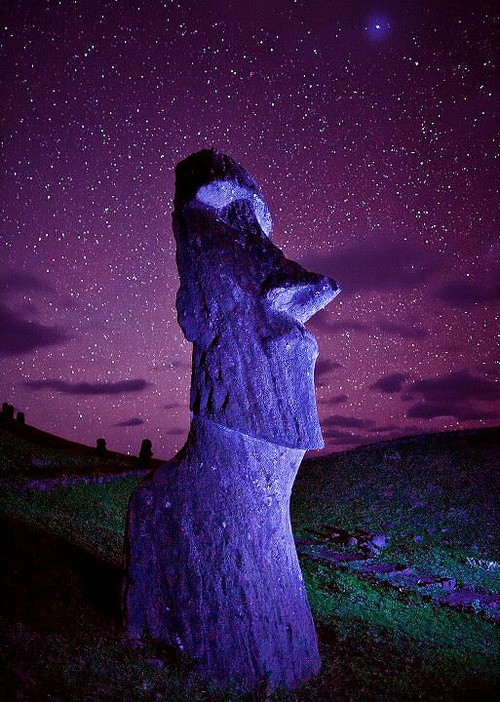 Easter Island Stars , via pinterest ~edit via ~Lori