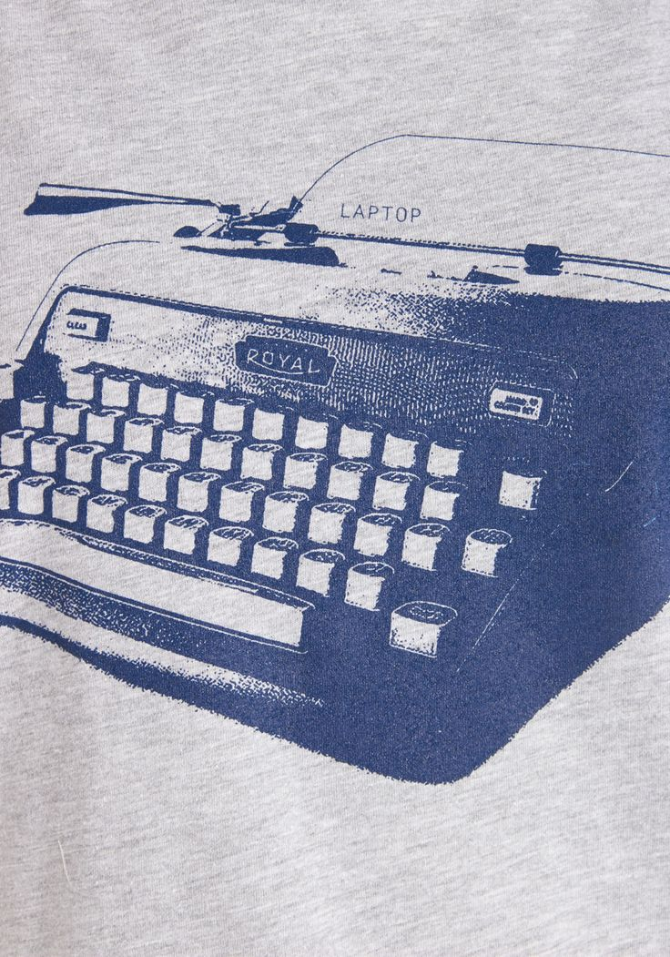 Write Your Bestseller Tee. Penning a chapter a day will take discipline. #grey #modcloth