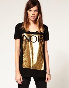 Eleven Paris Foil Noir T-Shirt