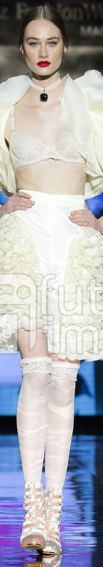 Andres Sarda Mercedes Benz  Fashion Show- AW 2017