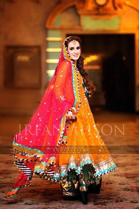 maria b | Pakistani Mehndi Brides | Pinterest | Maria b