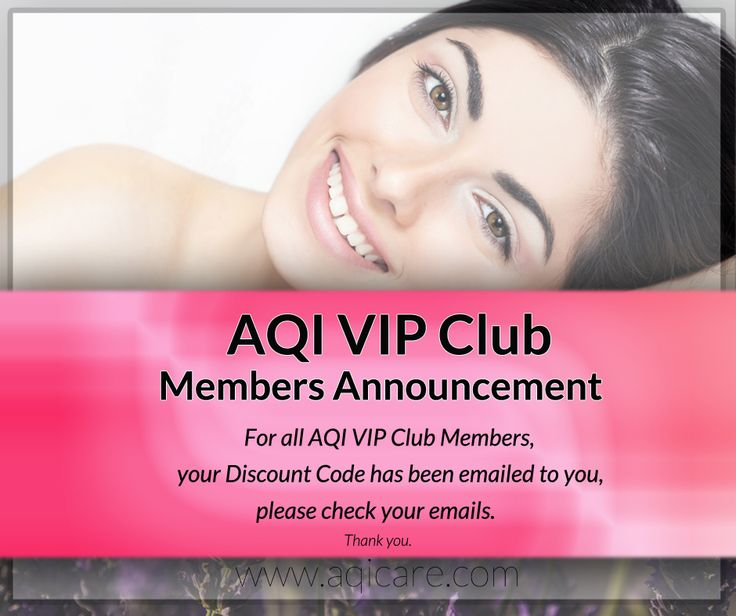 Have you received your AQI VIP Club Discount Code for November? For all AQI VIP Club Members, your Discount Code has been emailed to you, please check your emails. If you would like to join to become an AQI VIP Club Member, Click here http://aqivipclubjoin.gr8.com