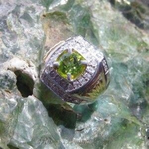 Cincin Peridot Ring 8US