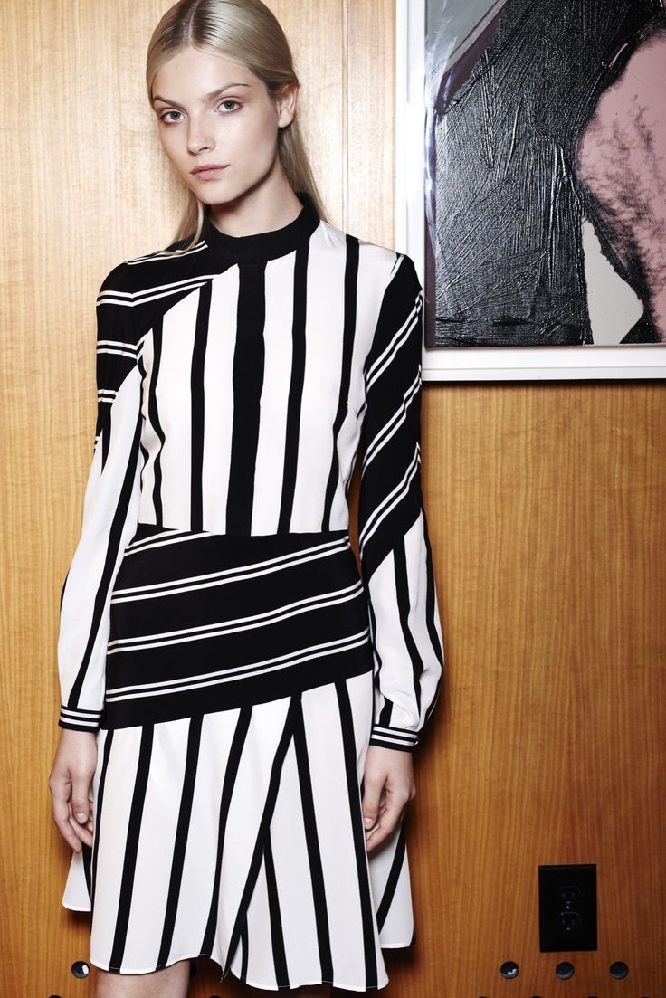 Giulietta Resort 2016 - Collection - Gallery - Style.com. Monochrome continues to be out there in all guises, bold and making a statement or more feminine and floaty, they have it all. Be careful when you wear this that you have the right colouring. Make sure the contrast works for you!