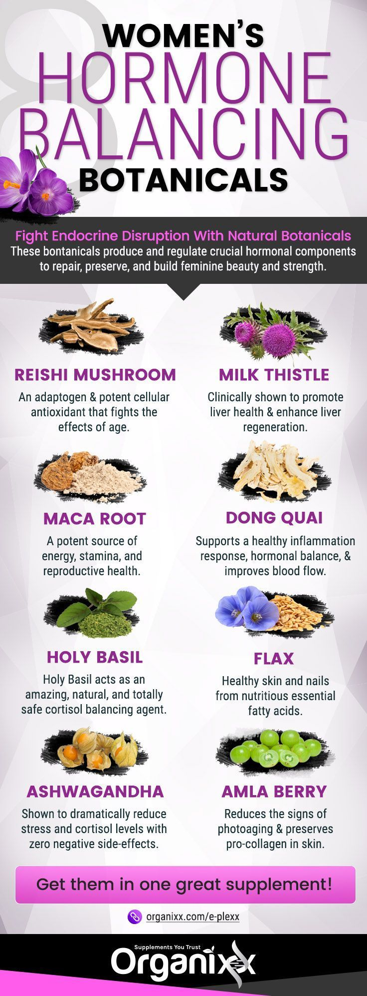 HORMONE BALANCE: Wondering what you can to protect yourself from things that can disrupt your hormones or get them �out of whack�? Click on the infographic above to learn how to support the proper balance of your hormones and 8 harmful endocrine disruptor