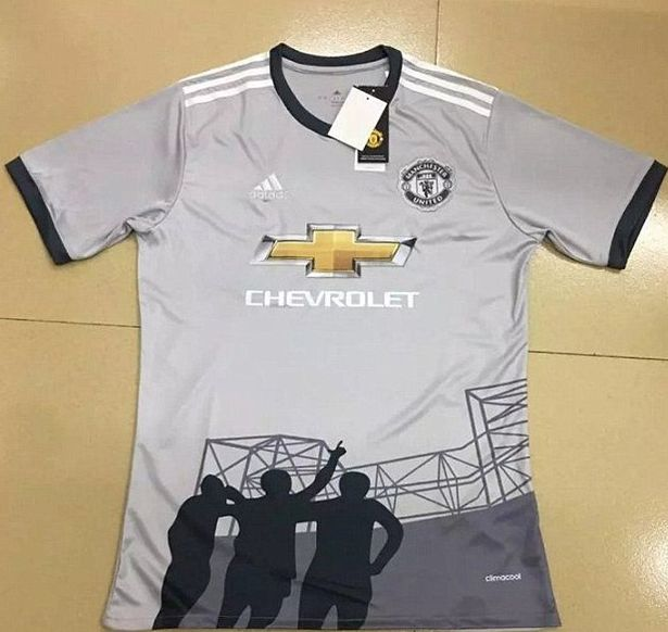 Manchester United 2017/18 third kit 'revealed' - Manchester Evening News