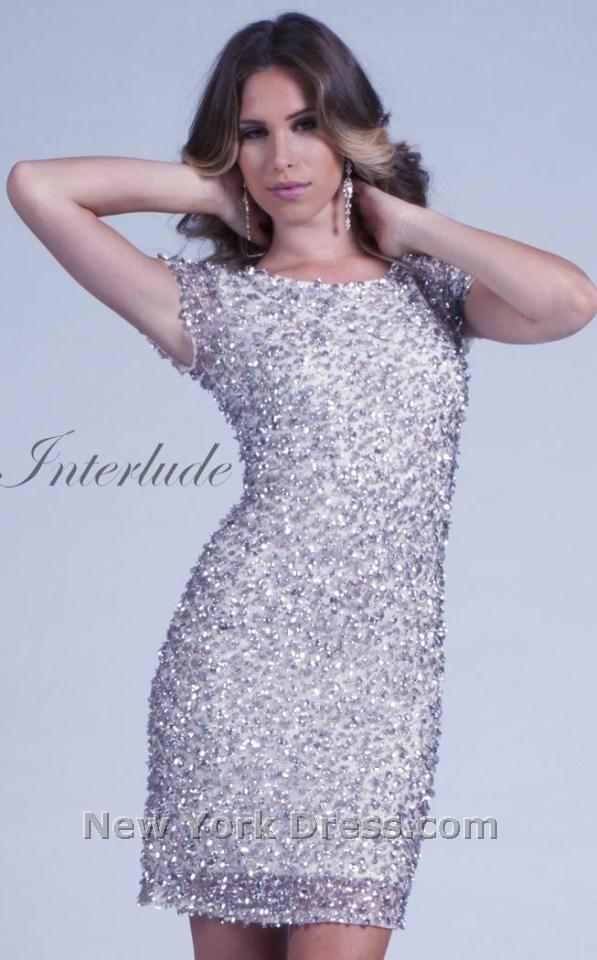 Sparkly bridesmaid dress