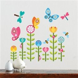 Wall decals baby girl