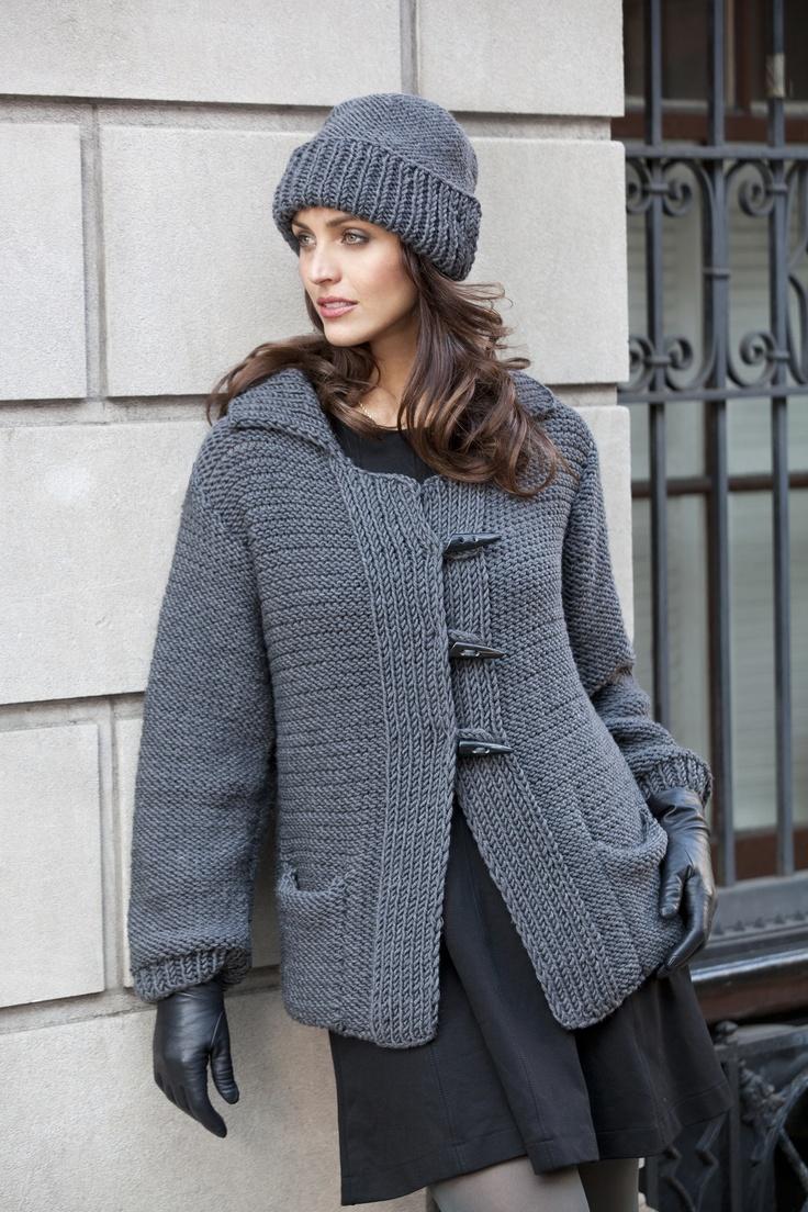 Perugia Toggle Coat and Hat in ZARA 14…