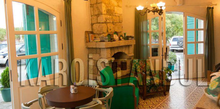 1850 Hotel / Alaçatı - Izmir The floor tiles made by Karoistanbul www.karoistanbul.com