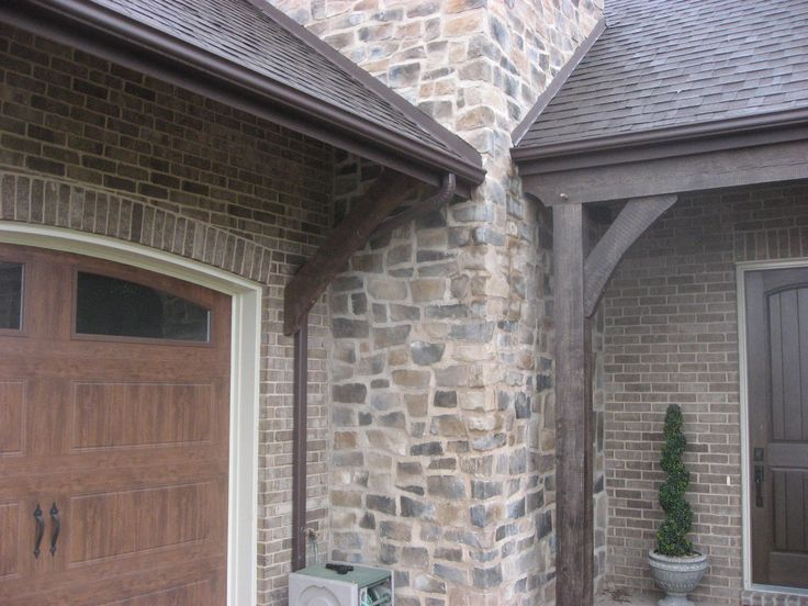 20 best images about home exterior on pinterest fire - Stone brick exterior combinations ...