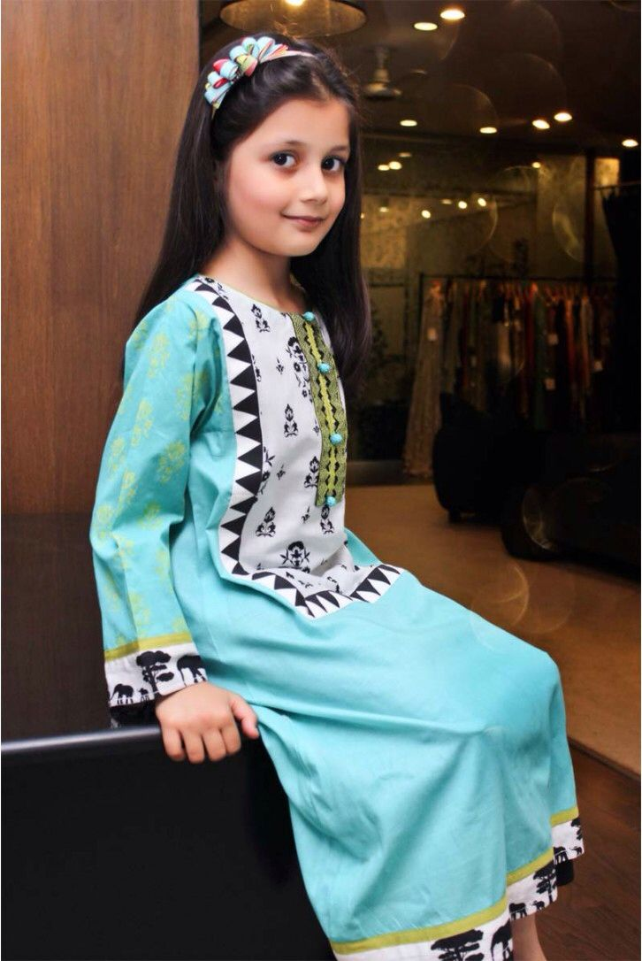 Eid kids kurta shalwar kameez designs 2013 2014 - Maria B Pakistani Maria Bmuhammadbaby Craftsabayaeidsalwar Kameezkids