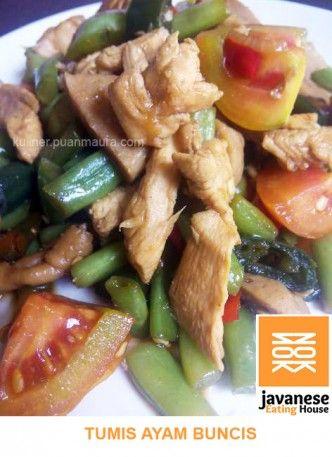 Resep Tumis Ayam Buncis