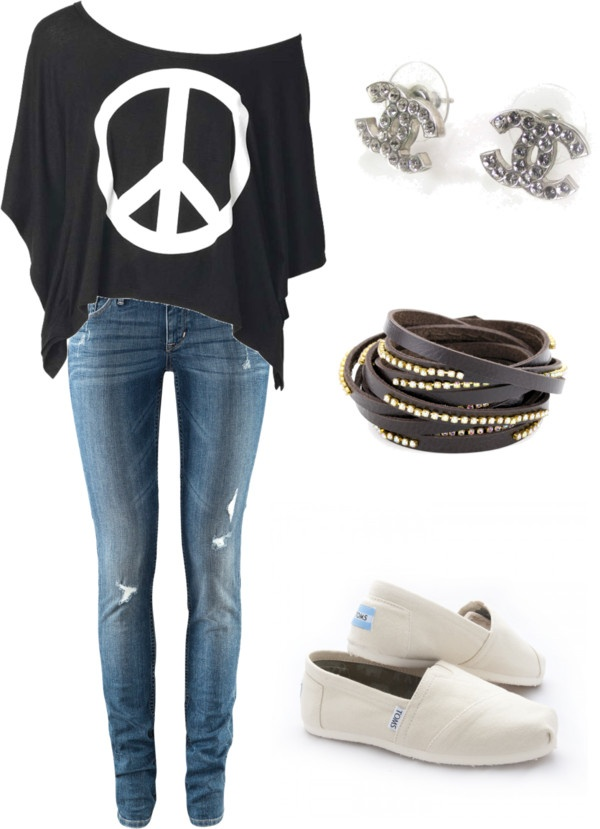 """Cute outfi"" by dazzlestar96 ❤ liked on Polyvore"