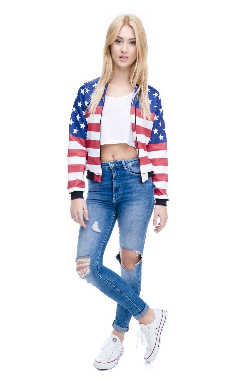 #bomberjacket #usa #americanflag  #jacket