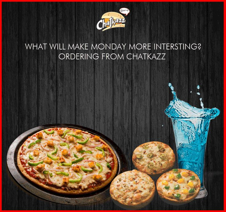 What are your plans for lunch? How about this lip-smacking #Pizza Combo? Made you hungry, right?