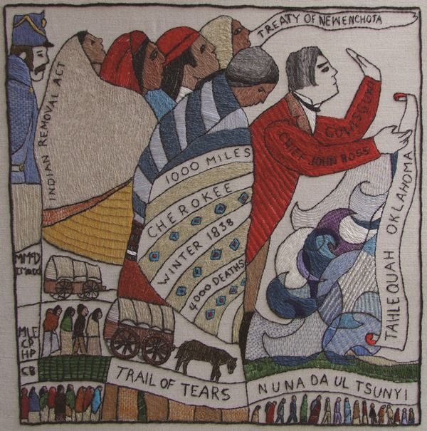 US14 - The Trail of Tears - The Scottish Diaspora Tapestry