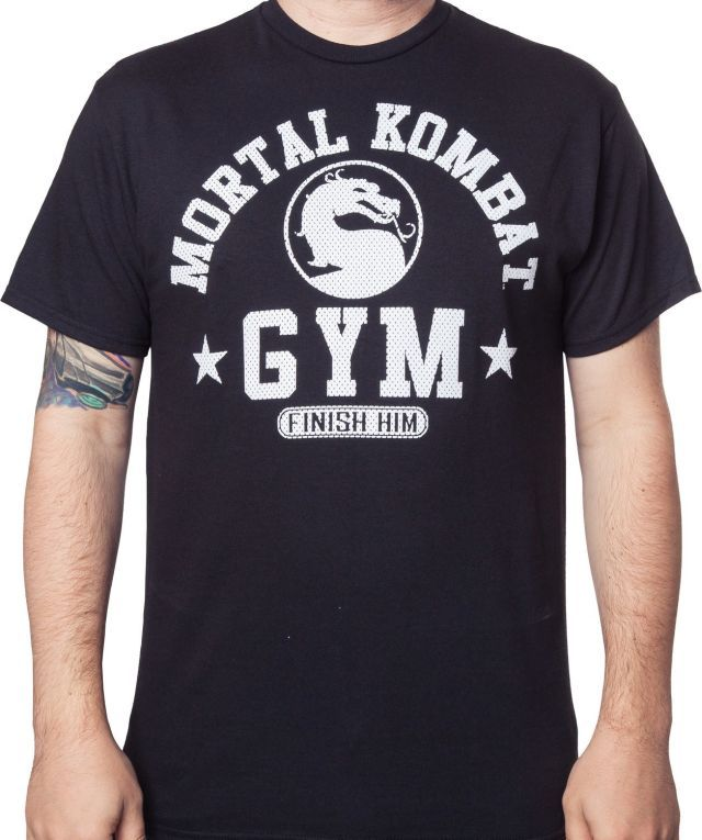 Mortal Kombat Gym T-Shirt - Video Game T-Shirt