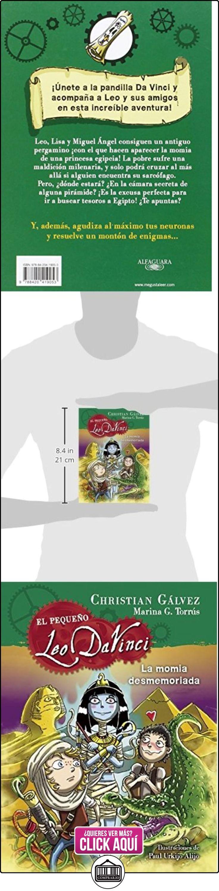 La Momia Desmemoriada. El Pequeño Leo Da Vinci 6 CHRISTIAN GALVEZ ✿ Libros infantiles y juveniles - (De 6 a 9 años) ✿ ▬► Ver oferta: http://comprar.io/goto/8420419052