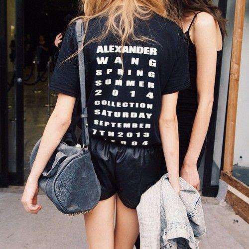 alexander wang spring summer '14 collection tee