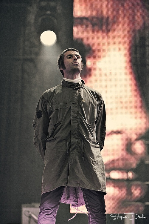Liam Gallagher, founder of Pretty Green clothing
