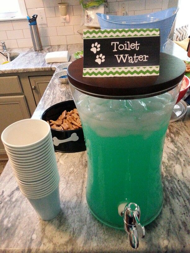 Toilet Water - Paw Patrol Party