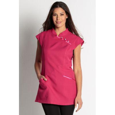 blouse estheticienne rose fuschia