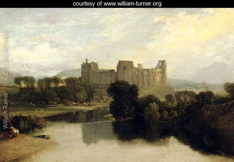 Cockermouth Castle, c.1810 - Joseph Mallord William Turner - www.william-turner.org