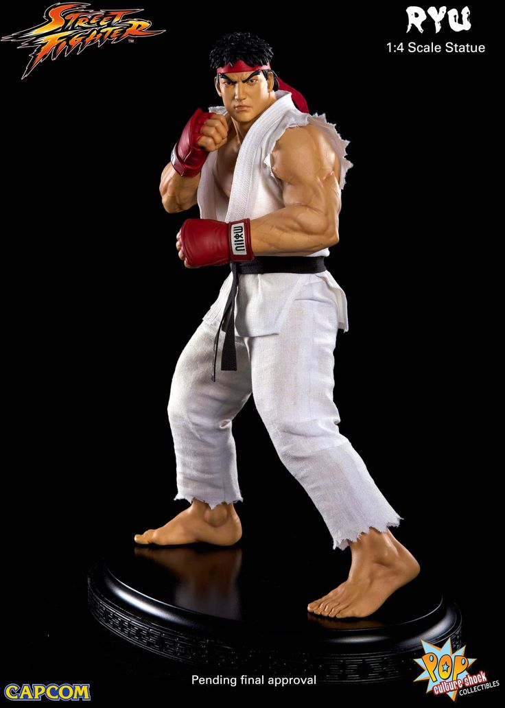 Pre-Order Pop Culture Shock Street Fighter Ryu 1:4 Statue