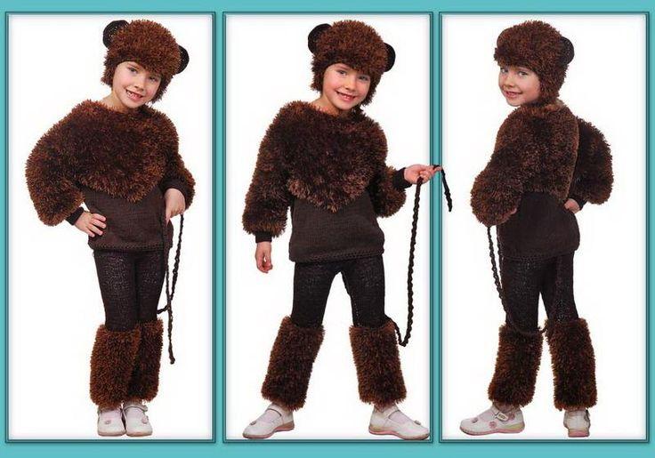 Танцевальные костюмы для детей обезьянка