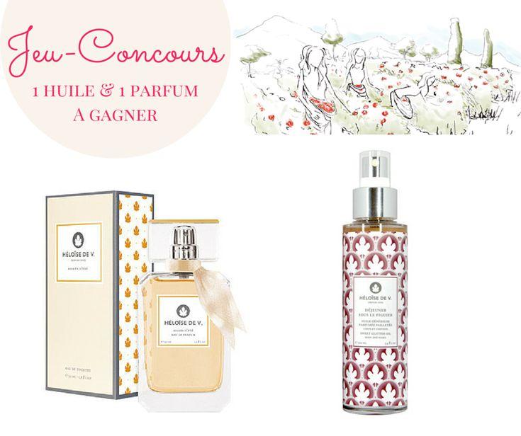 Jeu-Concours : Gagnez une huile et un parfum Heloïse de V. • La Parisine