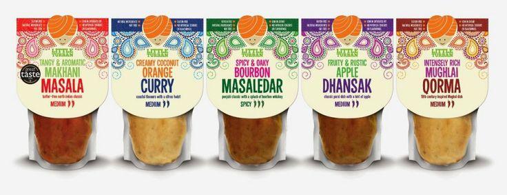 Британское дизайнерское агентство оформило дой-паки с соусами карри #doypack #packaging #curry #sauce #упаковка #карри #дойпак #соус http://doy-pack.ru/news/doy-pack-curry-indian-sauces/
