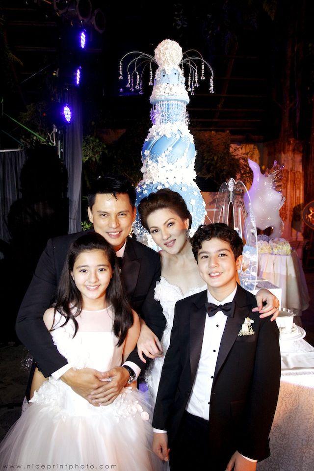 Carmina Villaroel Wedding Cake