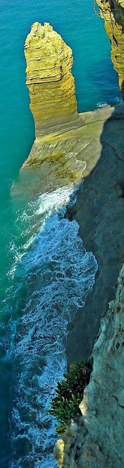 Rocks.. Sidari, Corfu Island // by aggeliki.k  on Panoramio