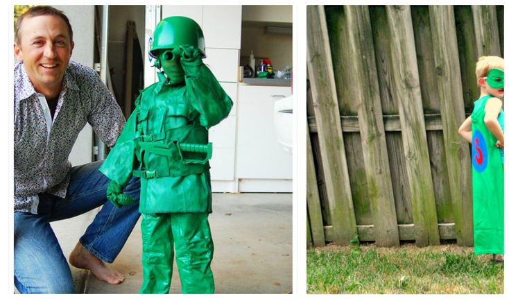 Easy DIY Halloween costume ideas #halloween as collected by www.skiptomylou.org
