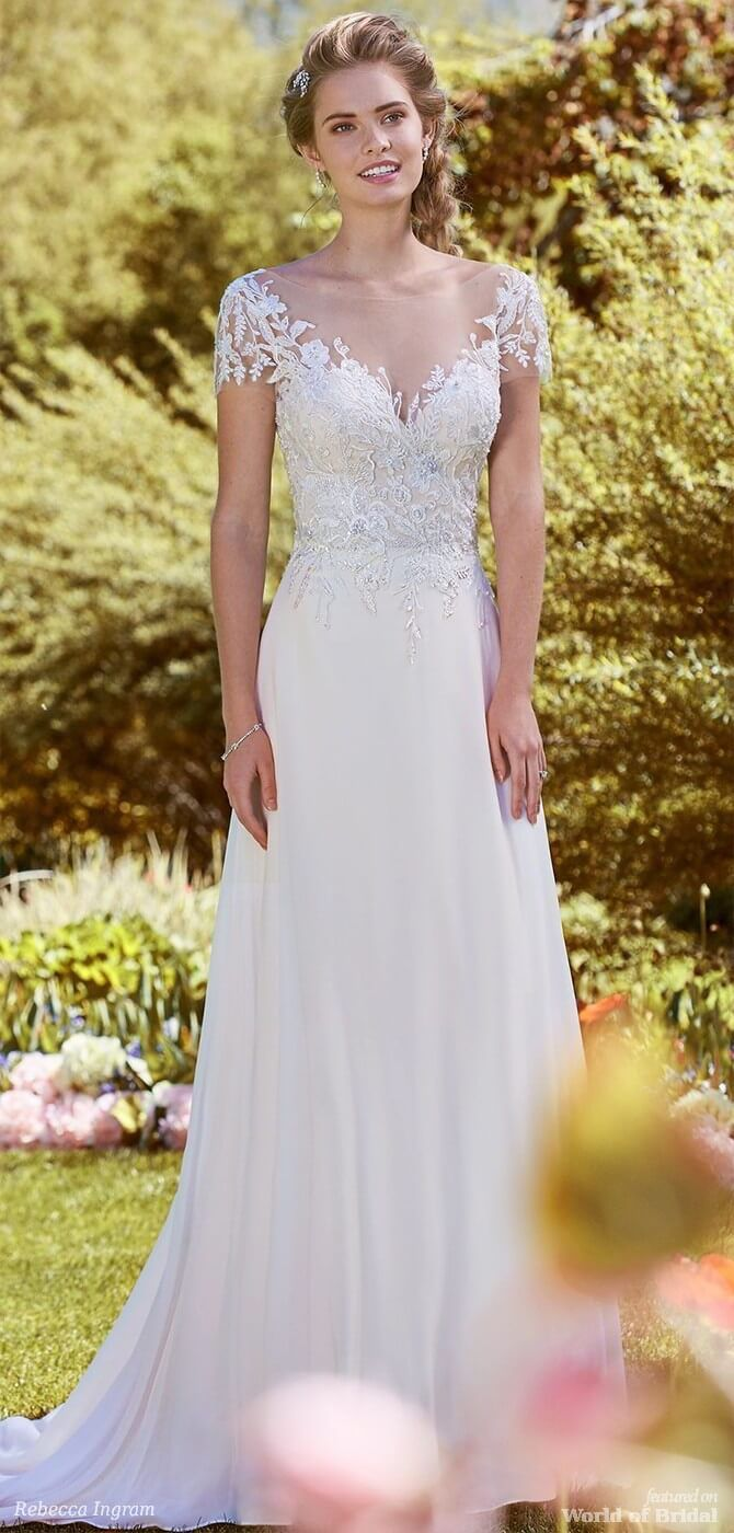 566ea4c6c95d Rebecca Ingram Spring 2018 Bridal Collection | Say Yes to the Dress ...