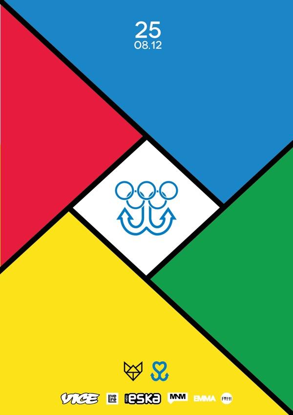 Miasto Cypel Olimpic games by Piotr Najar, via Behance
