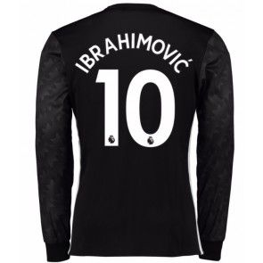 Manchester United Zlatan Ibrahimovic 10 Vieraspaita 17-18 Pitkähihainen